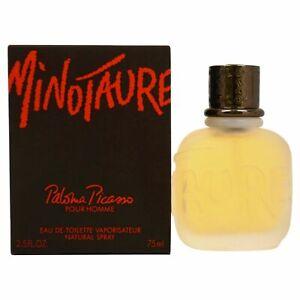 Détails sur Minotaure Cologne par Paloma Picasso, 74ml Édition Spray pour Hommes Neuf