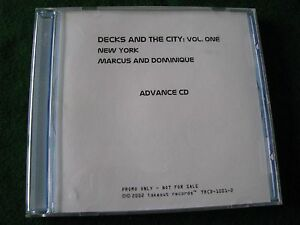 DECKS amp THE CITY Vol ONE NEW YORK Marcus amp Dominique Promo Album - <span itemprop='availableAtOrFrom'>Skegness, United Kingdom</span> - DECKS amp THE CITY Vol ONE NEW YORK Marcus amp Dominique Promo Album - Skegness, United Kingdom