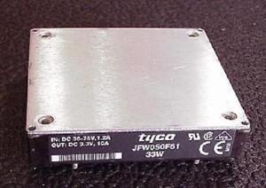 JFW050F61-DC-DC-Converter-48V-36-75V-Range-1-2A-to-3-3V-10A-Out-33W-Tyco
