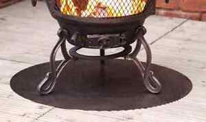Heat Mat Stove Floor Protection Steel