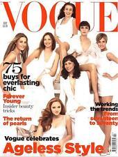 VOGUE July 2007 AGELESS STYLE Lily Cole JANE BIRKIN Yasmin Le Bon LOU DOILLON