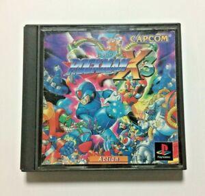 USED-PS-Rockman-X3-JAPAN-Sony-PlayStation-1-PS1-Rock-man-Megaman-Mega-man