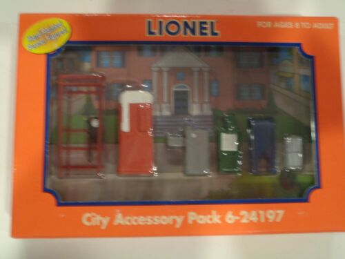 Lionel Trains City Accessory Pack Item #6-24197 Boxed Hand Painted Pewter Figure