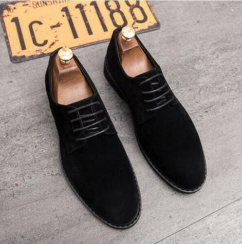 Neu Herren Schnürer Business Fashion Anzug Outdoor Arbeiten Clubwear Büro Schuhe