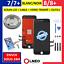 ECRAN-LCD-VITRE-TACTILE-SUR-CHASSIS-NOIR-BLANC-IPHONE-7-7-PLUS-8-8-PLUS miniatuur 1