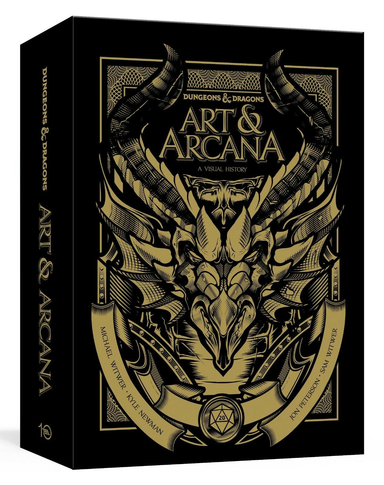 Dungeons and Dragons Art and Arcana Special Edition Boxed Book & Ephemera Set