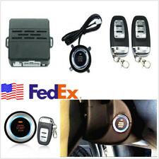 One Key Start Ignition Engine Starter Push Button Remote Alarm Safety System Usa Fits Honda