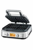 Breville Bwm640 The Waffle Pro Waffle Maker Grey