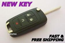 OEM GM BUICK keyless entry remote fob transmitter 13585814 +UNCUT KEY BLADE