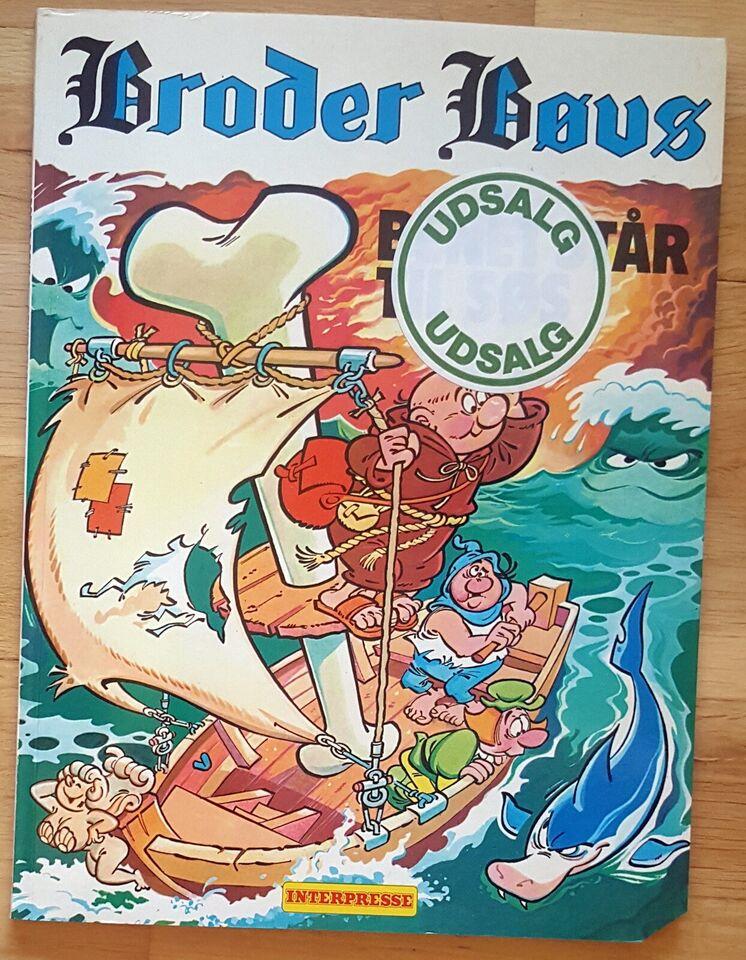 Tegneserier, Broder Bøvs