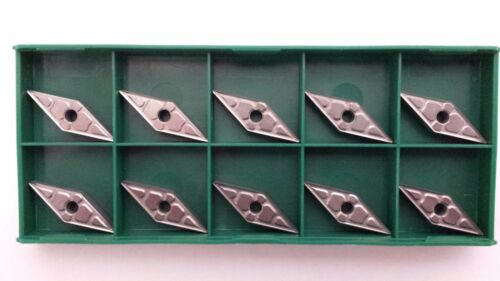 New World Products VNMG 331 M2 Mk2k C2 Carbide Inserts 10pcs Uncoated VNMG160404