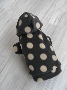 Gr. S Druckknöpfe am Bauch Hundebekleidung Hundemantel Hundejacke Hundekleidung
