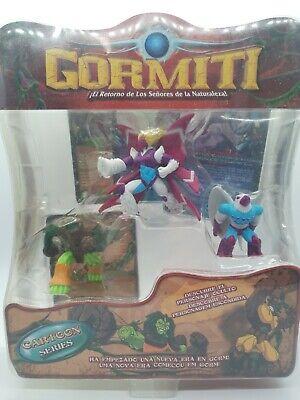 Gormiti Cartoon Figur 12 cm /& Reittier 20 cm Bewegung und Funktion Set