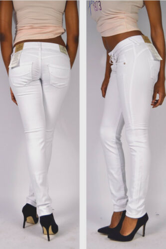 White Drill Gila Knack Nuovo Stretch Splendida Slim Po Skinny PTx4RwC