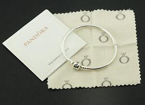 Genial Original Pandora Poliertuch Für Armband Charm Element / Gold Und Silber P2407
