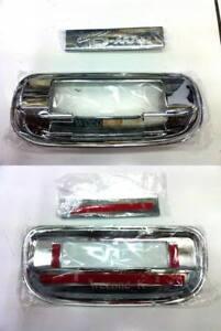 CHROME TAIL GATE TAILGATE ACCENT V.2 ISUZU DMAX D-MAX PICKUP 2012 2013 2014 2015