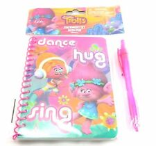 Dreamworks Trolls Pink Stationary Set with Pen