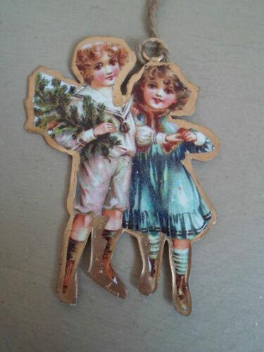 enfants ou angel by sass /& belle Nostalgique hanging décoration de noël de santa