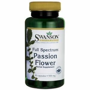 Swanson-Full-Spectrum-Passion-Flower-500-mg-60-Capsules