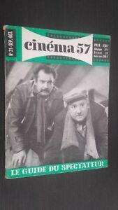 Rivista Mensile per Lettera Cinema N° 21SEPTEMBRE-OCTOBRE 1957 Be