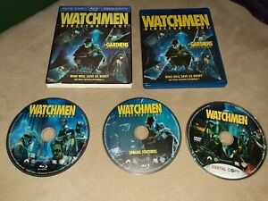 Watchmen-Blu-ray-Disc-2009-3-Disc-Set-Canadian-Directors-Cut-With-Slipcover