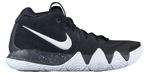 new arrivals 22b3f 68ddd Details about Nike Kyrie 4 Black White speckled Anthracite 943806-002 Men  Women Sizes New