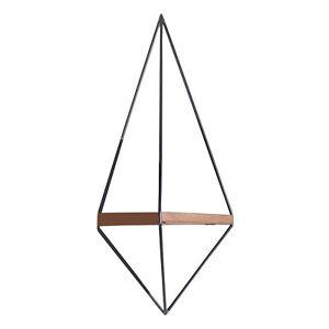 Etagere-Murale-Vertikales-Court-Pile-Moderne-Pour-Decoration-Vases-Horloges-Et