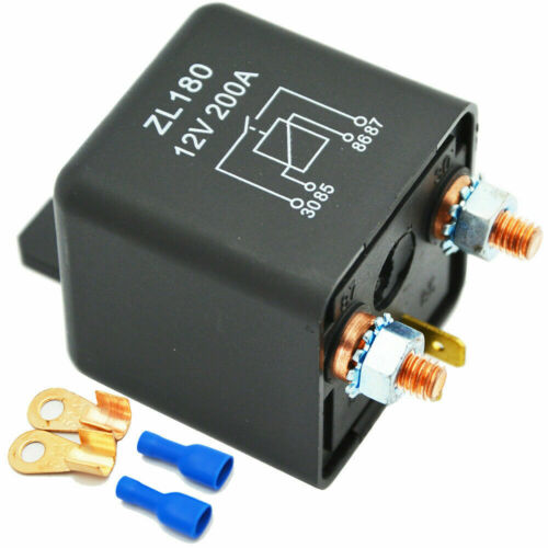 Schwerlast Starter Relais Batterie Split Charge Auto 12V 200A Automobil