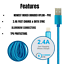 miniature 4 - 3Pack 10Ft USB Fast Charger Cable For Apple iPhone 12 11 8 7 6 XR Charging Cord