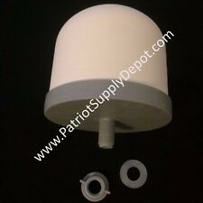 Zen Water System Ceramic Dome Filter, ships from TX! - Bulk Sales Available