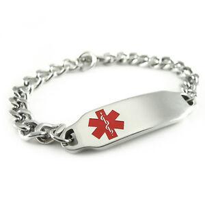 Image Is Loading Myiddr Womens Pre Engraved Dementia Alert Id Bracelet