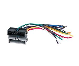 aps ai cwh 634 car radio chrysler dodge jeep wiring harness wire rh ebay com Aftermarket Stereo Wiring Harness Adapters Radio Wiring Harness Diagram