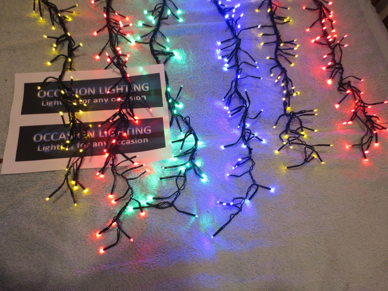 6 GOCCIA GRANDE GRANDE GRANDE display a Coloreeei di Natale luci da giardino multi funzione 480 Luci dfadcd
