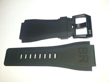 Rubber strap band And Buckle for bell ross watch BR 01 03 BR01 BR03