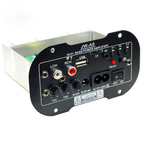 USB High Power Subwoofer Amplifier Board USB Remote Control For Motorcycle\Car
