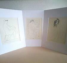 Pablo Picasso - ORIGINAL VINTAGE ART - 1956 Lote Litografías Suite Vollard Print