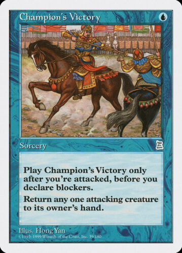 MTG X1: Champion/'s Victory U P3K FREE US SHIPPING! Light Play