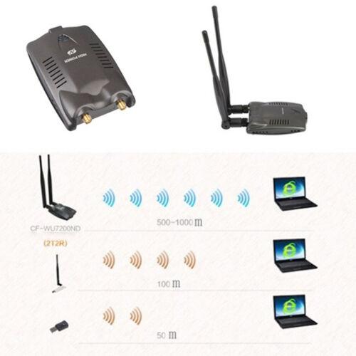 Password Crack Internet Long Range Dual Wifi Antenna USB Wifi Adapter Decoder ty