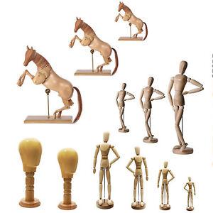 Zeichenfigur-Gliederpuppe-Zeichenpuppe-Modellpuppe-Gelenkpuppe-Puppe-Holz-Figur