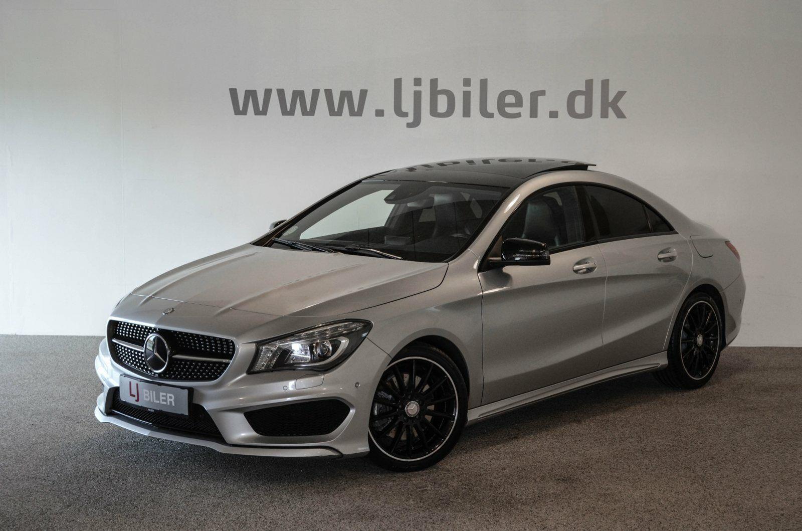 Mercedes CLA220 2,2 CDi AMG Line aut. 4d - 299.800 kr.