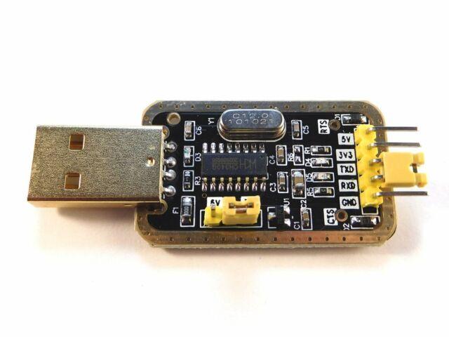 USB - TTL Serial Communication and Programming Adapter CH340 3.3V / 5V