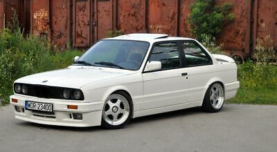 P BMW 3 Series E30 Cabrio Side Skirts Sill Covers M Technik 2 Sideskirts