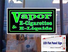 "24"" x 48"" LED Light box Sign- Vapor E- Cigarette & E-liquids"