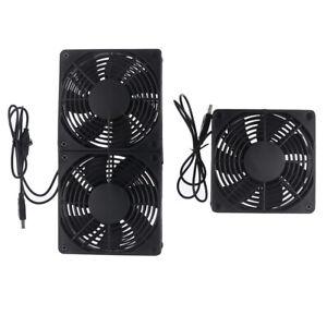fan Router Cooling Fan  Cooler TV Box Wireless Quiet DC 5V USB power fan 12_ZT