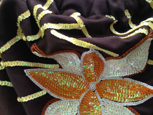 Hoornring met Tote Handgrepen Orchidee label Canvas Nieuw Handgemaakt Handtas NXOkPn0w8