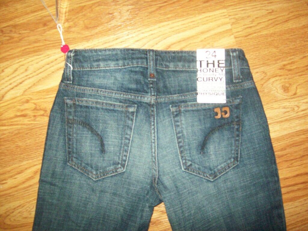JOE'S Jeans Gigi Lavaggio Miele Stivaletti Fit Fit Fit Jeans Svasati da Donna, Taglia 24 4c7858