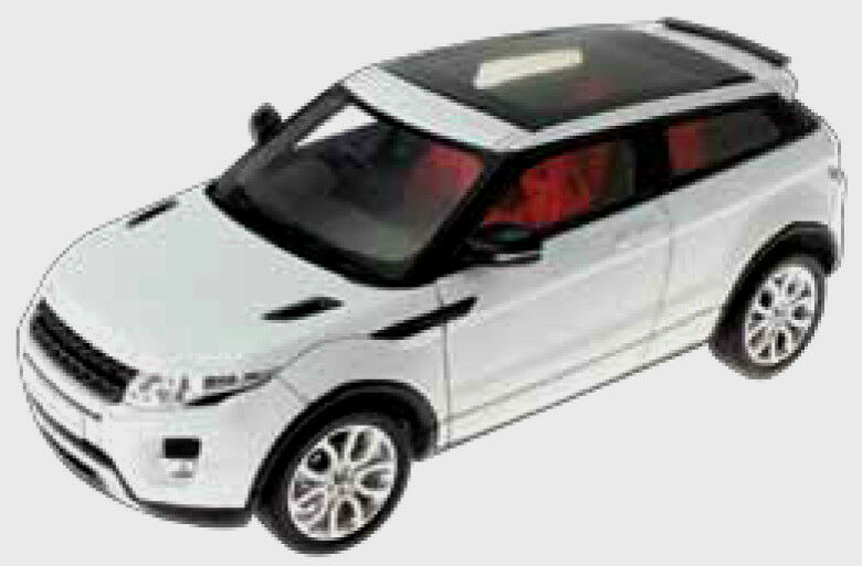 Wonderful modelcar RANGE ROVER ROVER ROVER EVOQUE 2012 - white  - 1 43 - lim.ed. 500 pcs. 433ee1