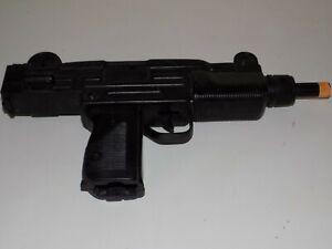 Vintage Larami Mac-10 Jouet Squirt Gun Pistolet à eau à batterie 1986