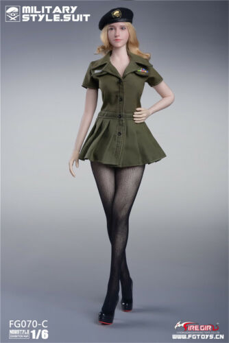 """Fire Girl Toys 1//6 FG070 Us army style seamless tights set for 12/"""" Hot Toys body"""