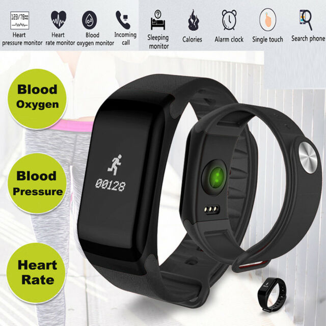 953d36c21 F1 Smart Watch Blood Pressure Heart Rate Monitor Fitness Sports Bracelet  Band
